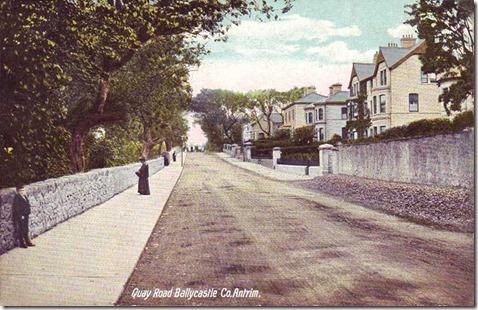 Co Antrim, Ballycastle, Quay Road
