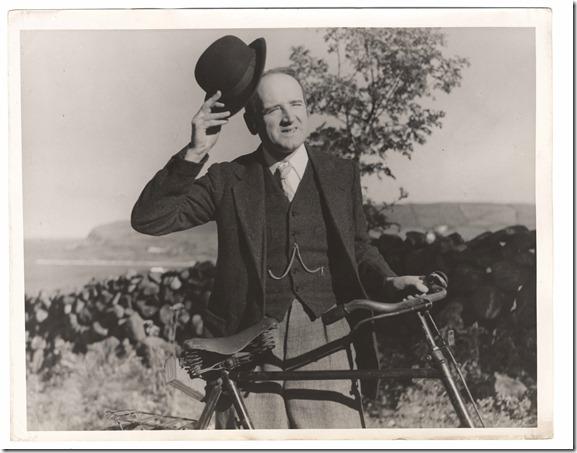 Hayward with bike in Luck of the Irish 1935-1