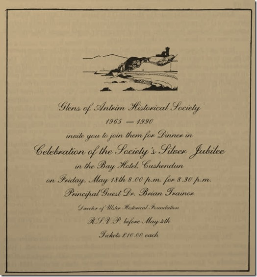 Silver Jubilee Invitation